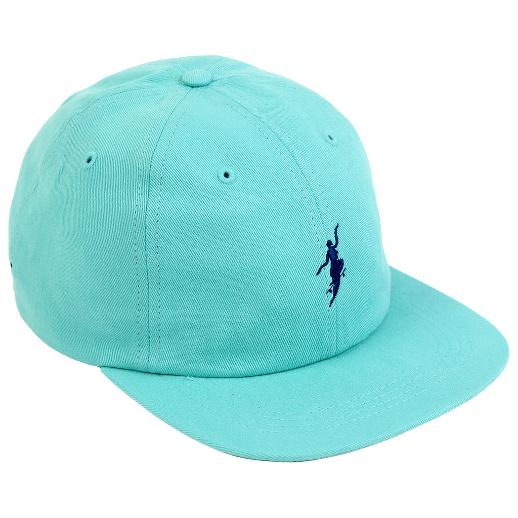 Polar Skate Co No Comply Cap in Pastel Green / Navy