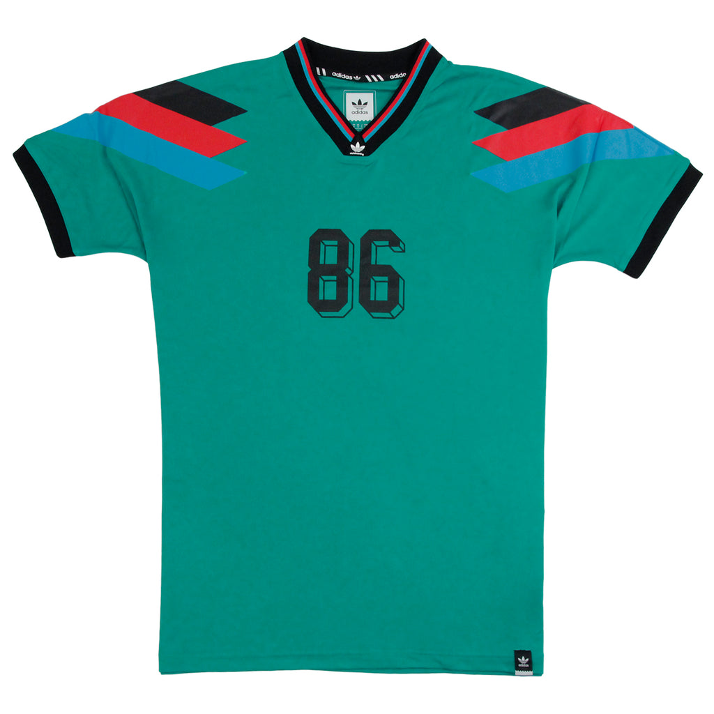 Adidas Skateboarding Silas Germany Jersey in Green