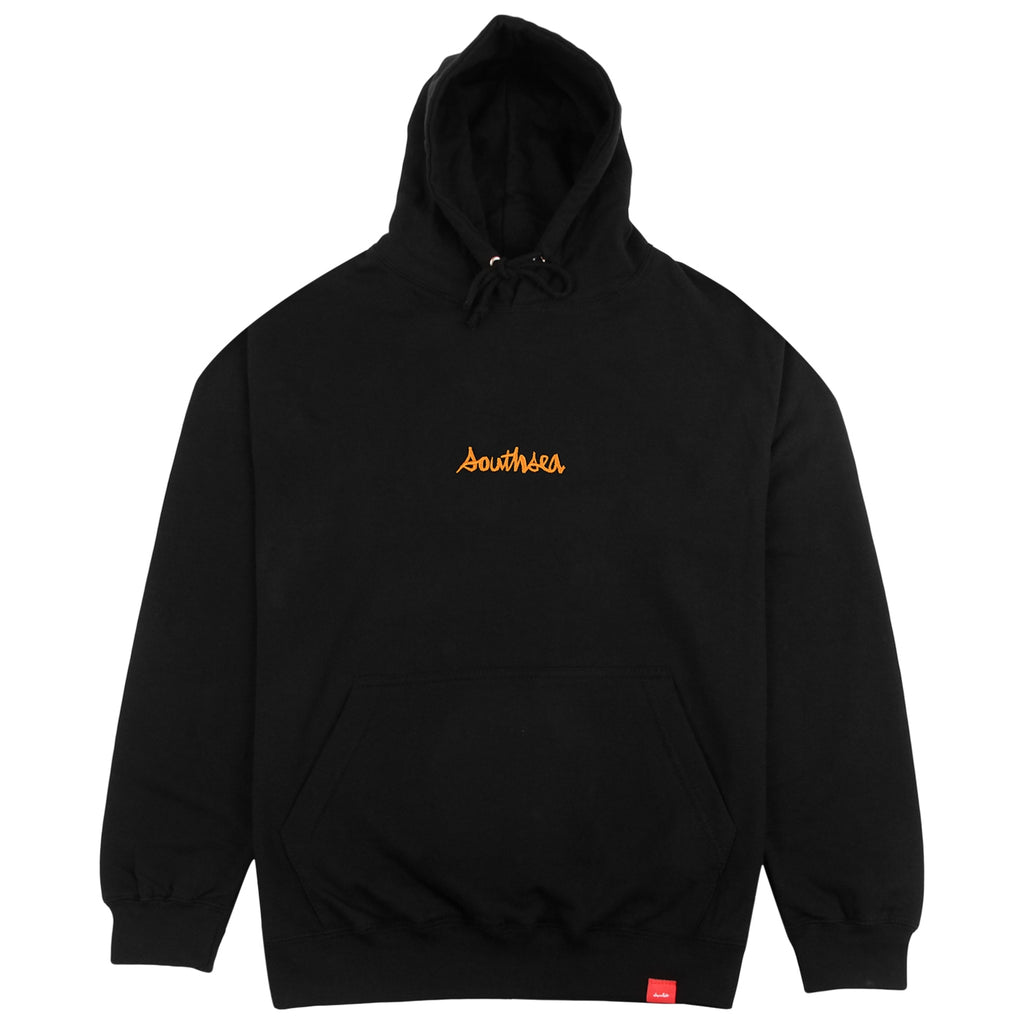 Bored of Southsea x Chocolate Skateboards Chunk The World Hoodie in Black