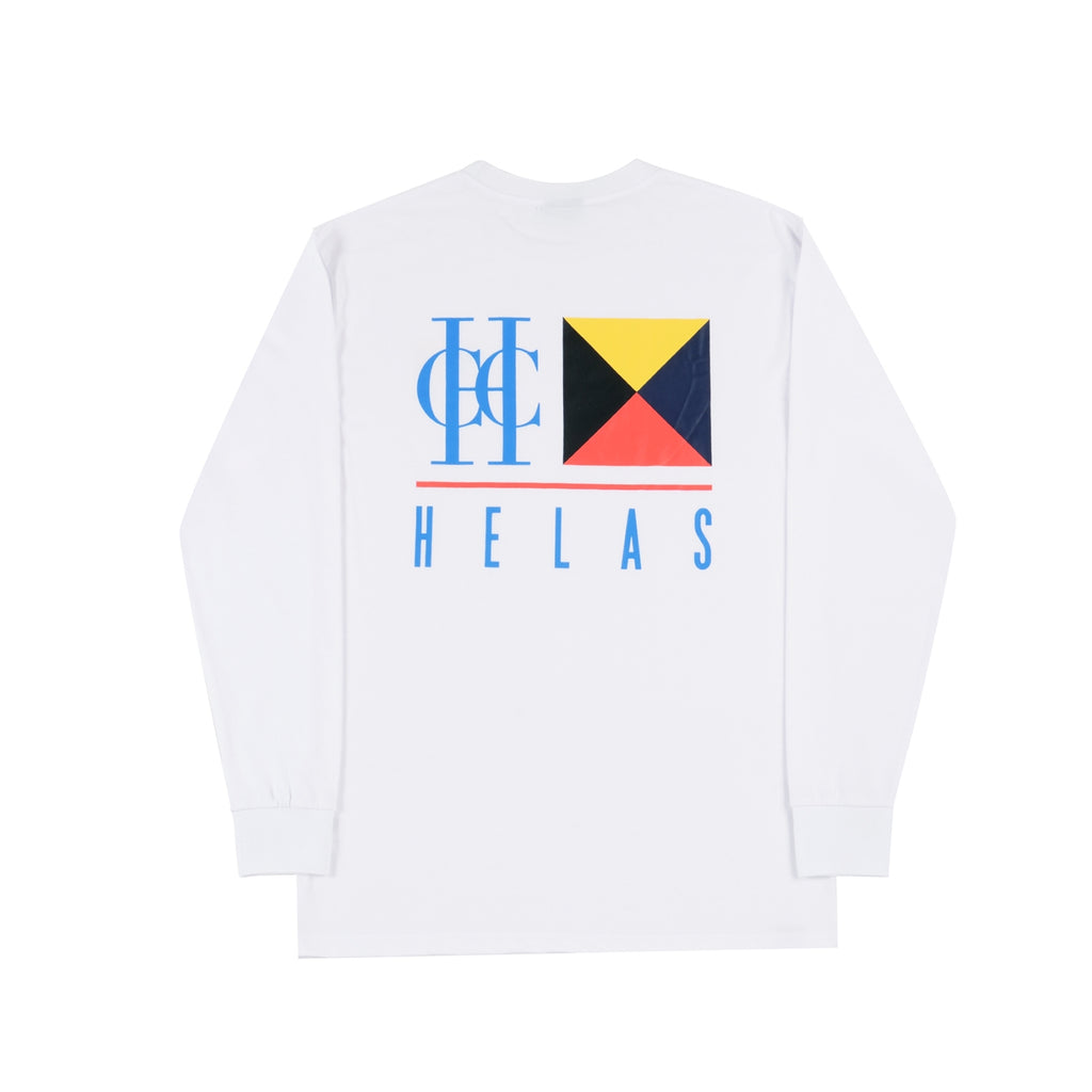 Helas HCC Zulu Cruise L/S T Shirt in White