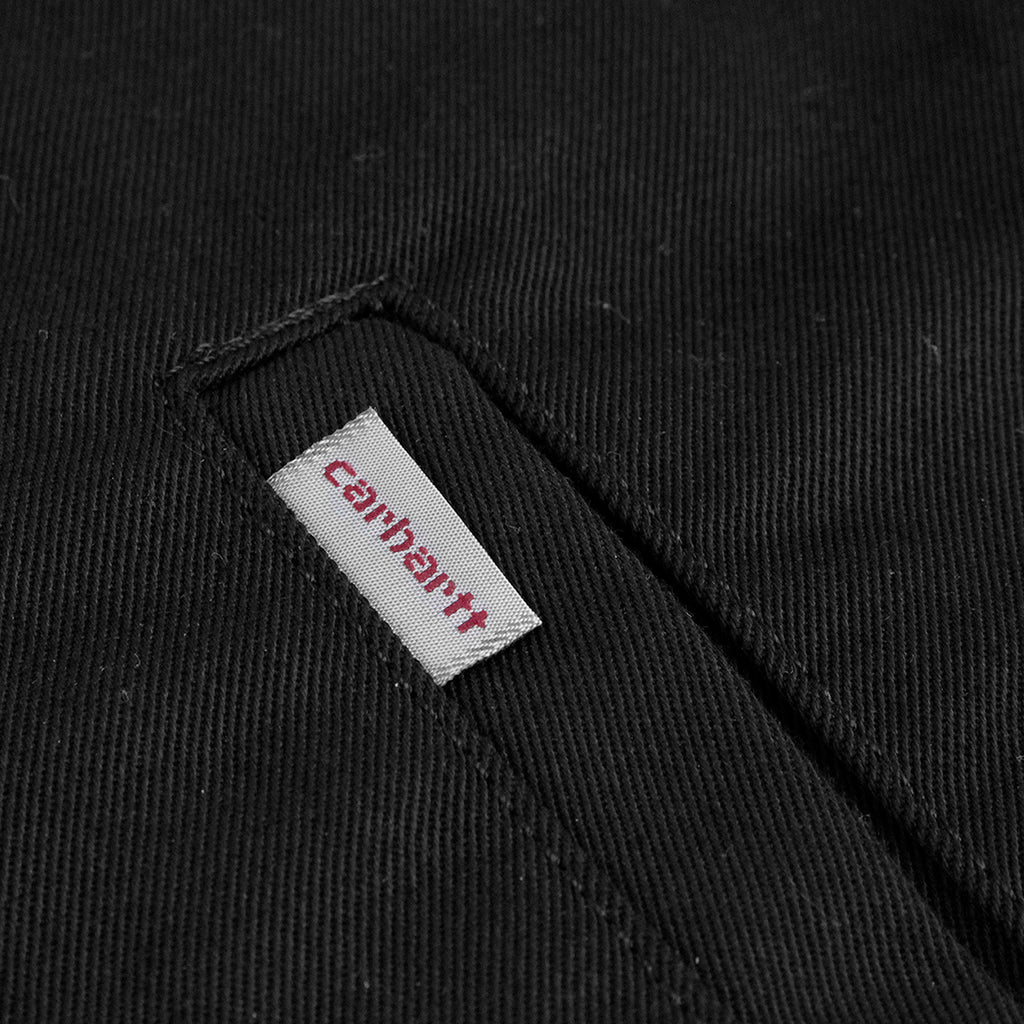 Carhartt Modular Jacket in Black Rinsed - Flag Label