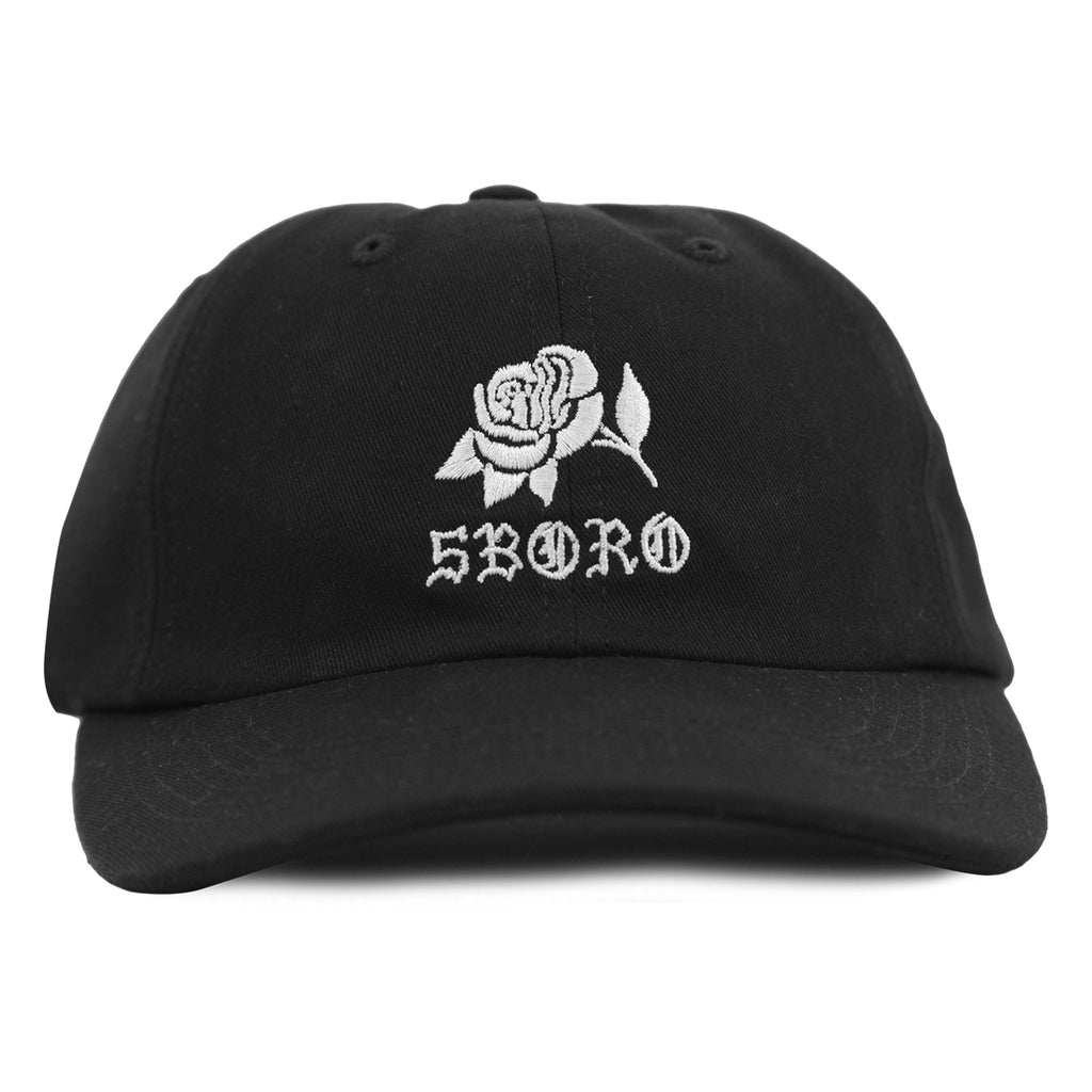 5Boro 5B Rose Cap in Black - Front
