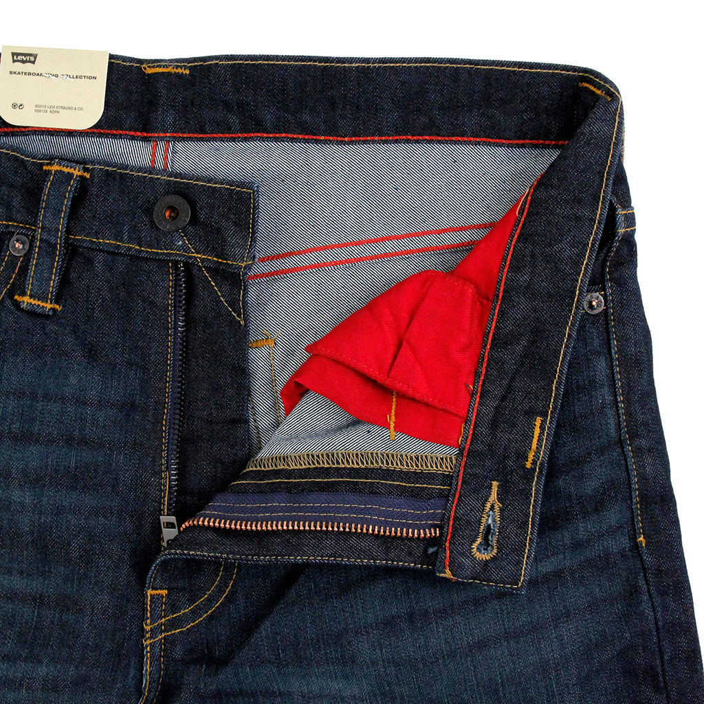 Levis Skateboarding 511 Slim Jeans in Soma - Unzipped