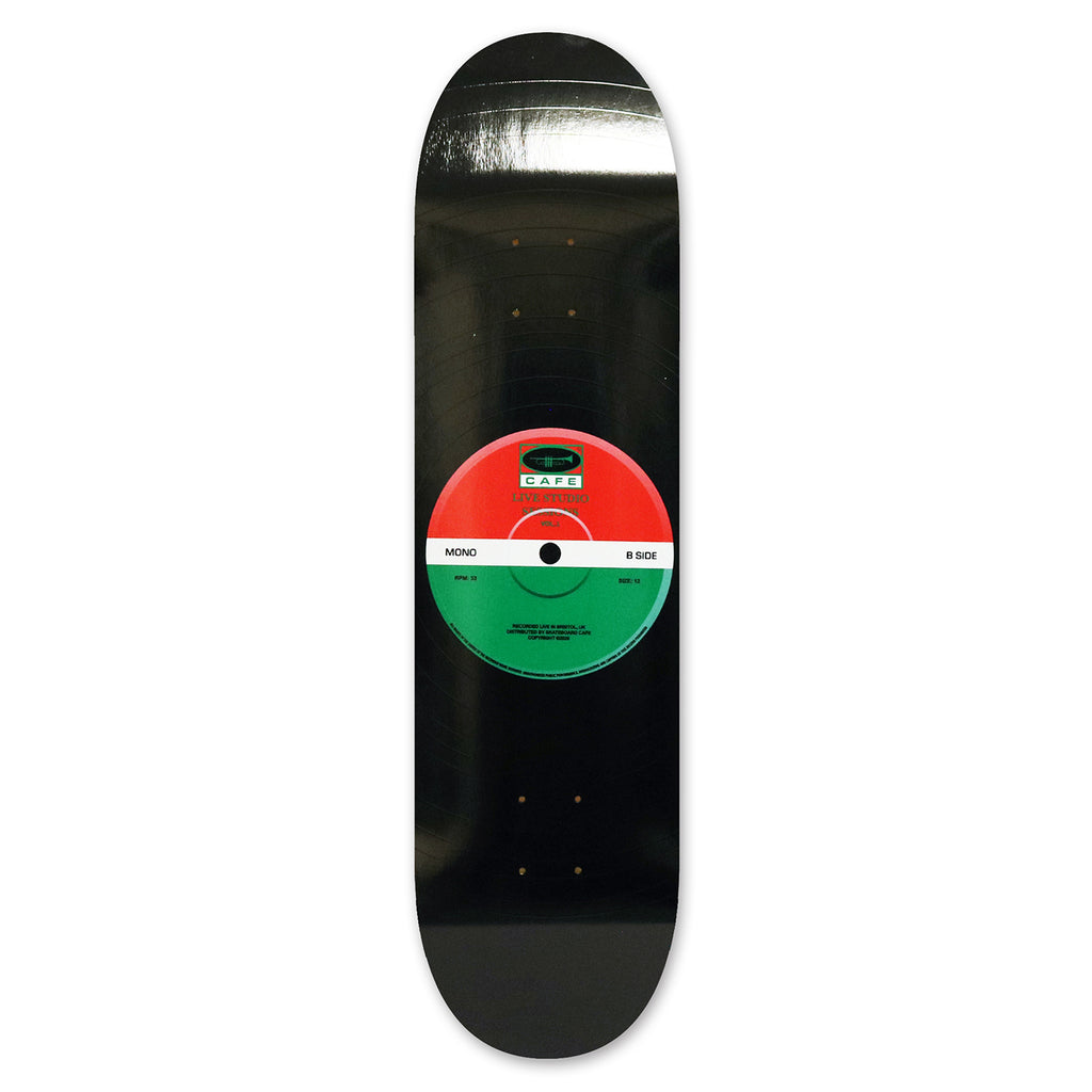"Skateboard Cafe ""45"" Skateboard Deck - Red / Green"
