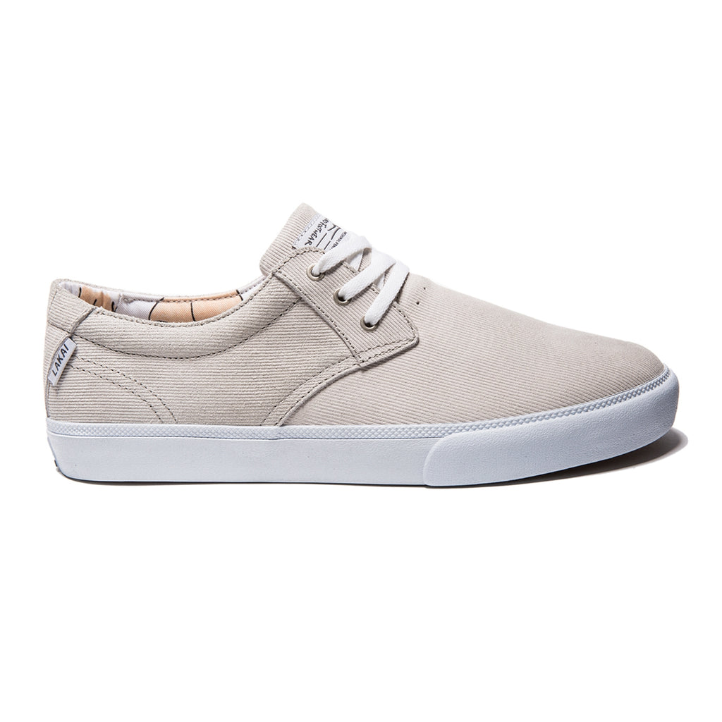 Lakai Daly x Porous Walker Skate Shoes in White Suede