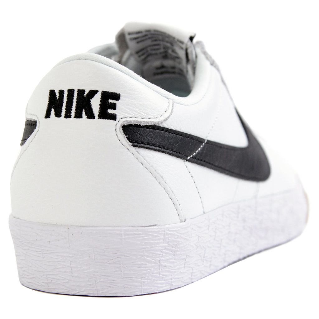 half off 90a7f 17265 Nike SB Bruin Premium SE Shoes in Summit White   Black - White - Heel
