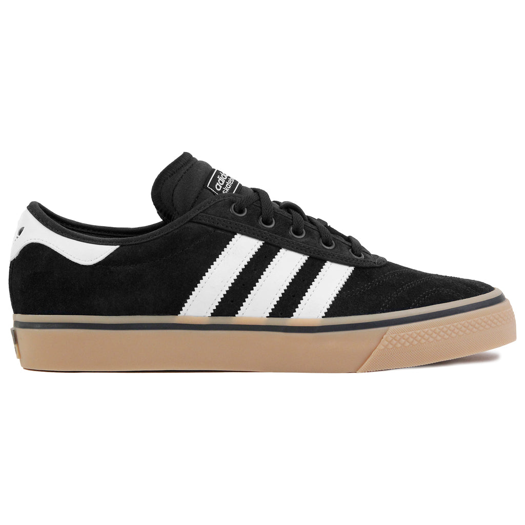 Adidas Skateboarding Adi Ease Premier Shoes in Core Black / FTW White / Gum