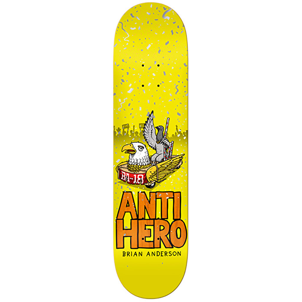 Anti Hero Skateboards BA 1st Skateboard Deck in 8.25""