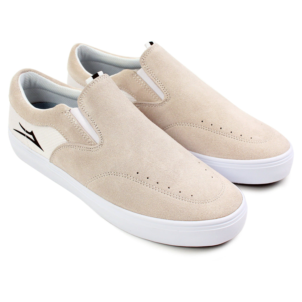 Lakai Owen Chalk Pack Shoes in White - Pair