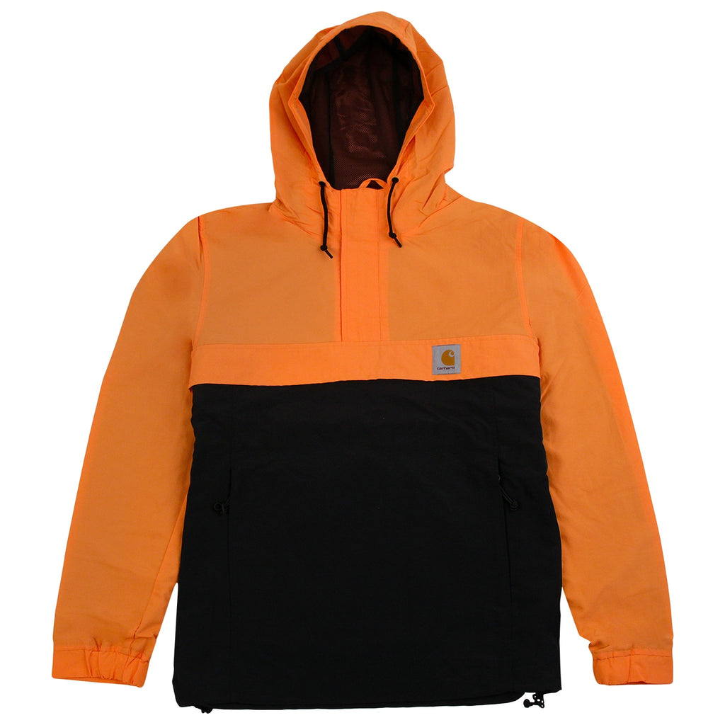 Nimbus Two Tone Pullover Jacket in Jaffa / Black