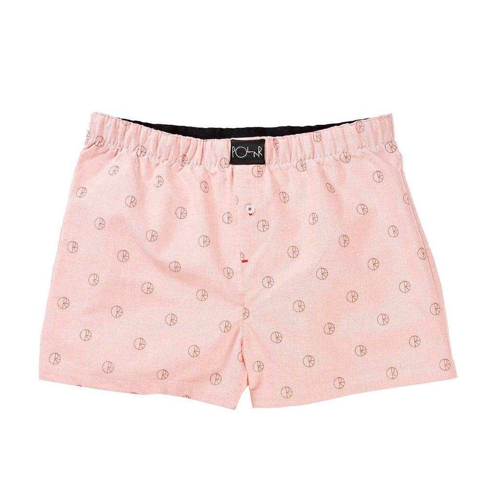 Polar Skate Co 3 Pack Boxer Shorts in Blue / Peach / Mint - Peach