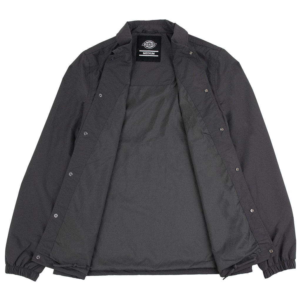 Dickies Torrance Jacket in Charcoal Grey - Open