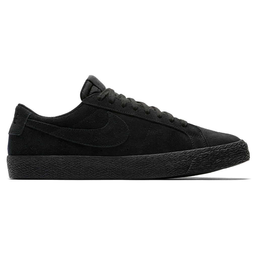 Nike SB Zoom Blazer Low Shoes in Black / Black - Gunsmoke