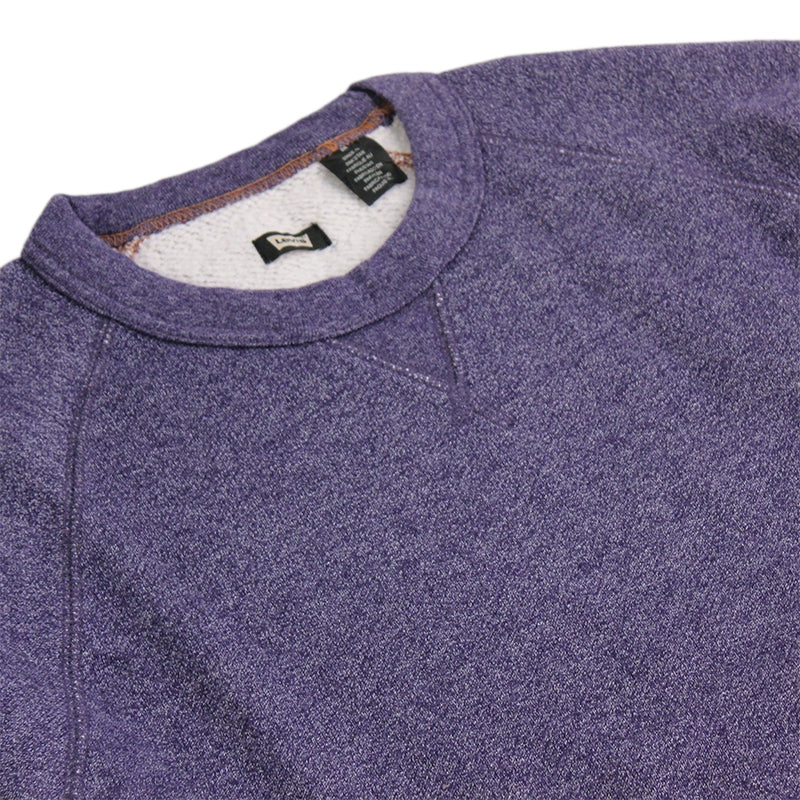 Levi's Skateboard Collection Skate Crewneck Fleece in Patriot Blue Heather - Detail