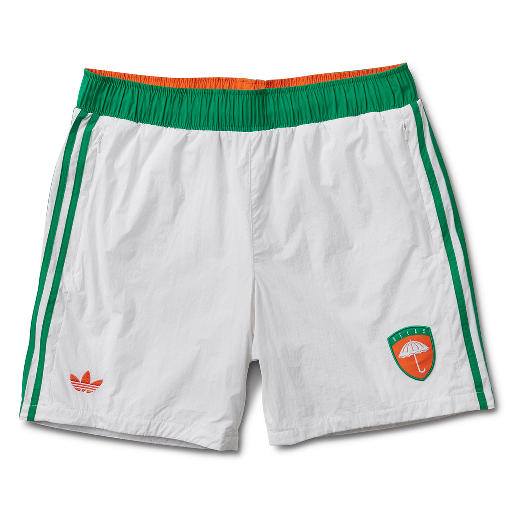 Adidas x Helas Wind Shorts in White