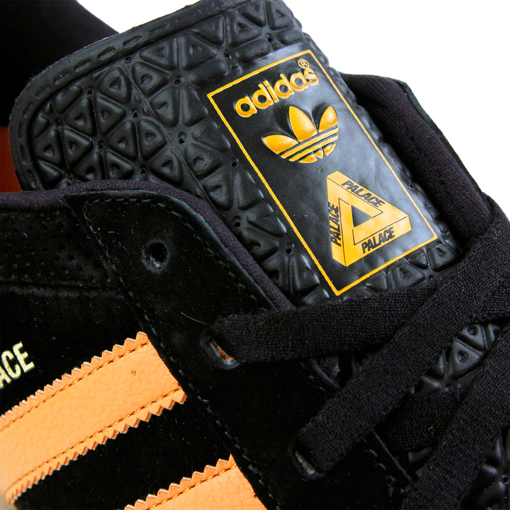 Palace x Adidas Palace Pro Shoes in Core Black / Bright Orange Gum 3 - Detail 4