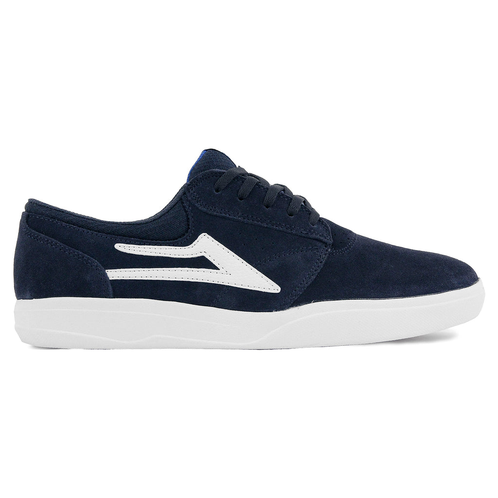 Lakai Griffin XLK Shoes in Navy / White
