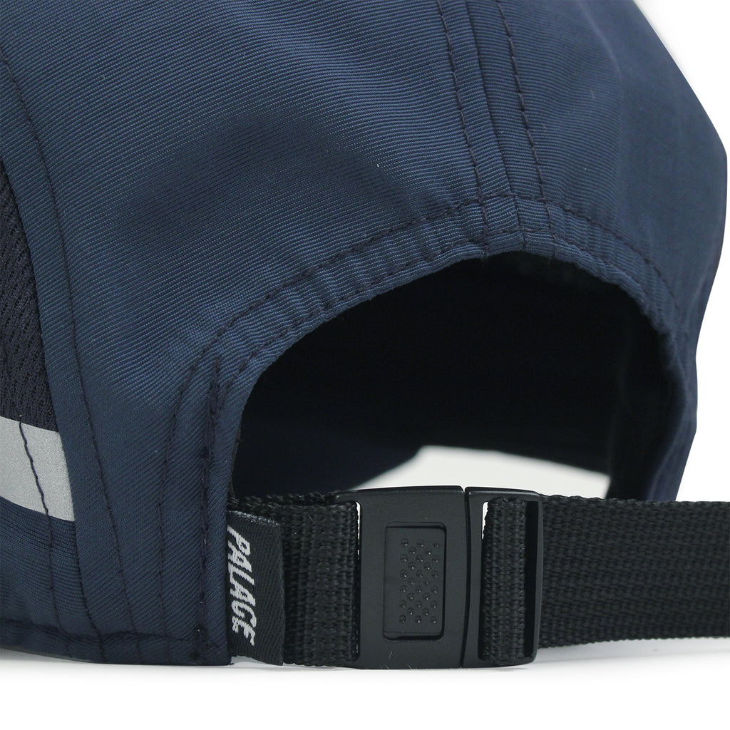 Palace 7 Panel Sport Cap in Blue Nights - Back