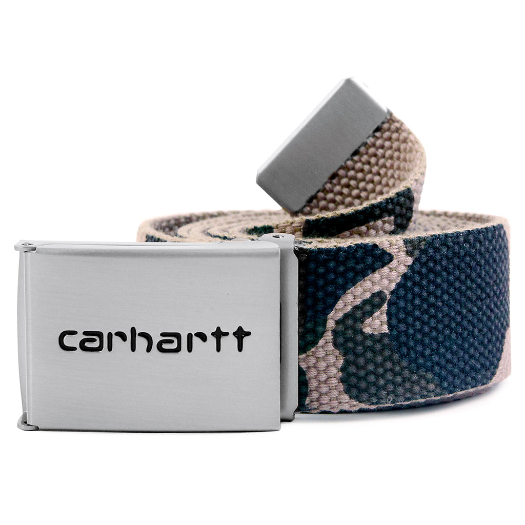 Carhartt Clip Belt Chrome - Camo Duck