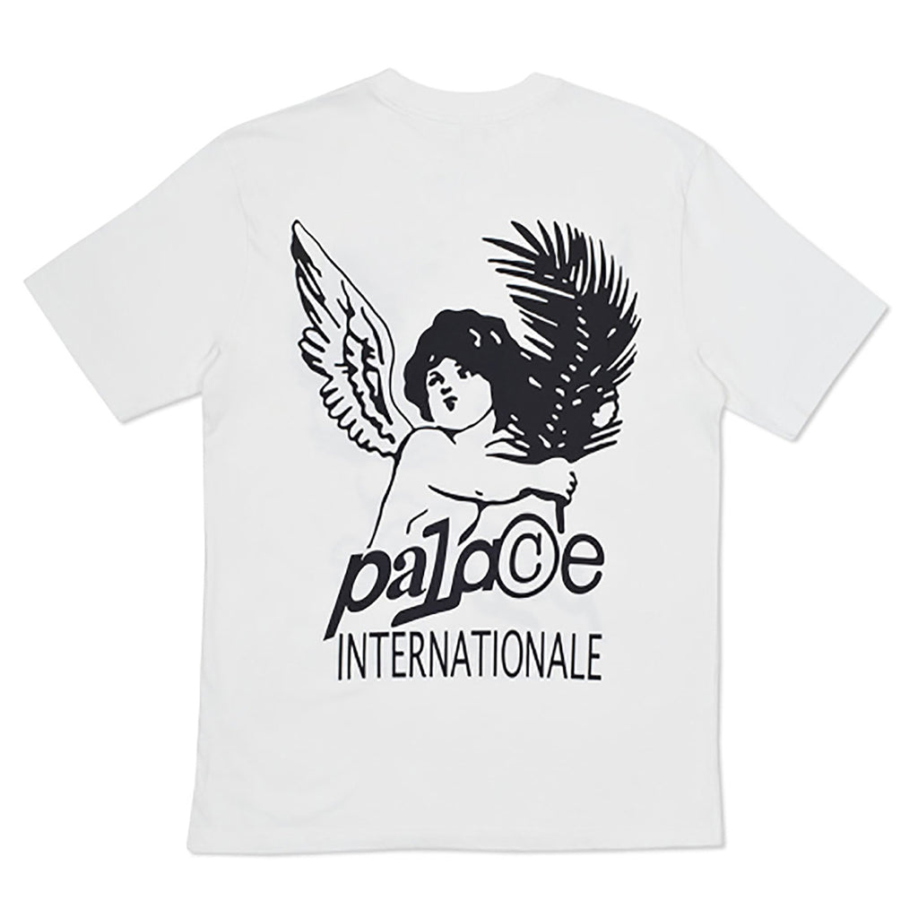 Palace Cherub T Shirt in White - Back