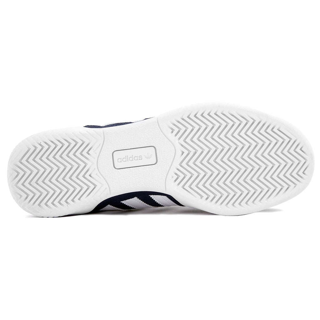 Adidas City Cup Shoes in Collegiate Navy / Footwear White / Footwear White - Sole