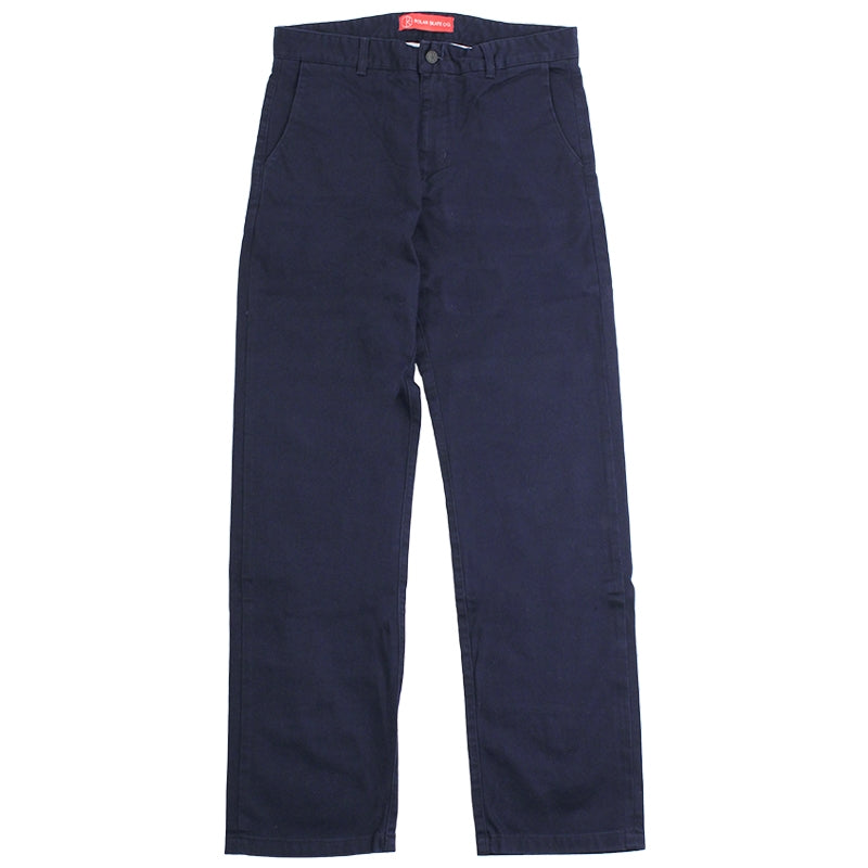 Polar Skate Co Chino Pants in Navy - Front
