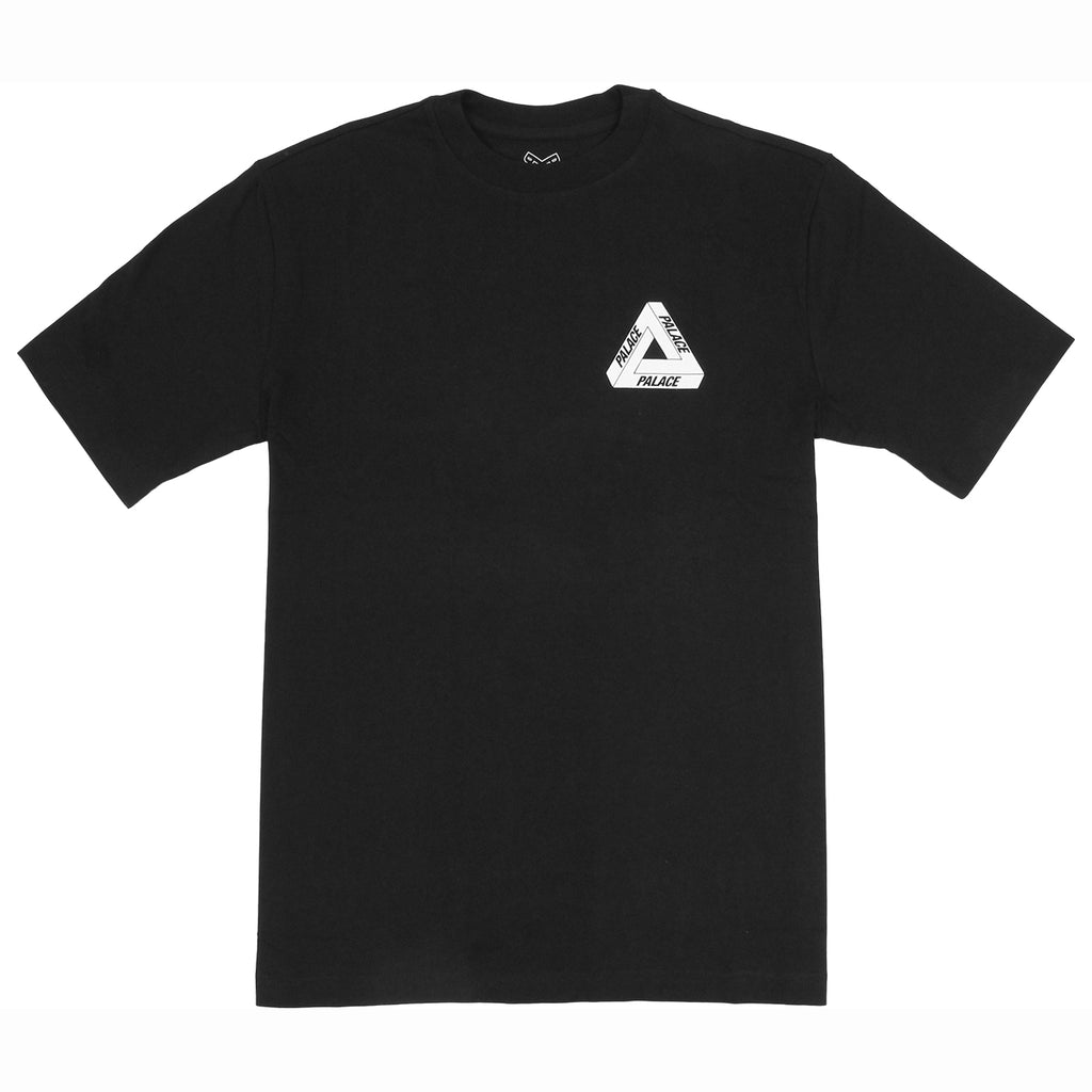 Palace Drury Brit T Shirt in Black  - Front