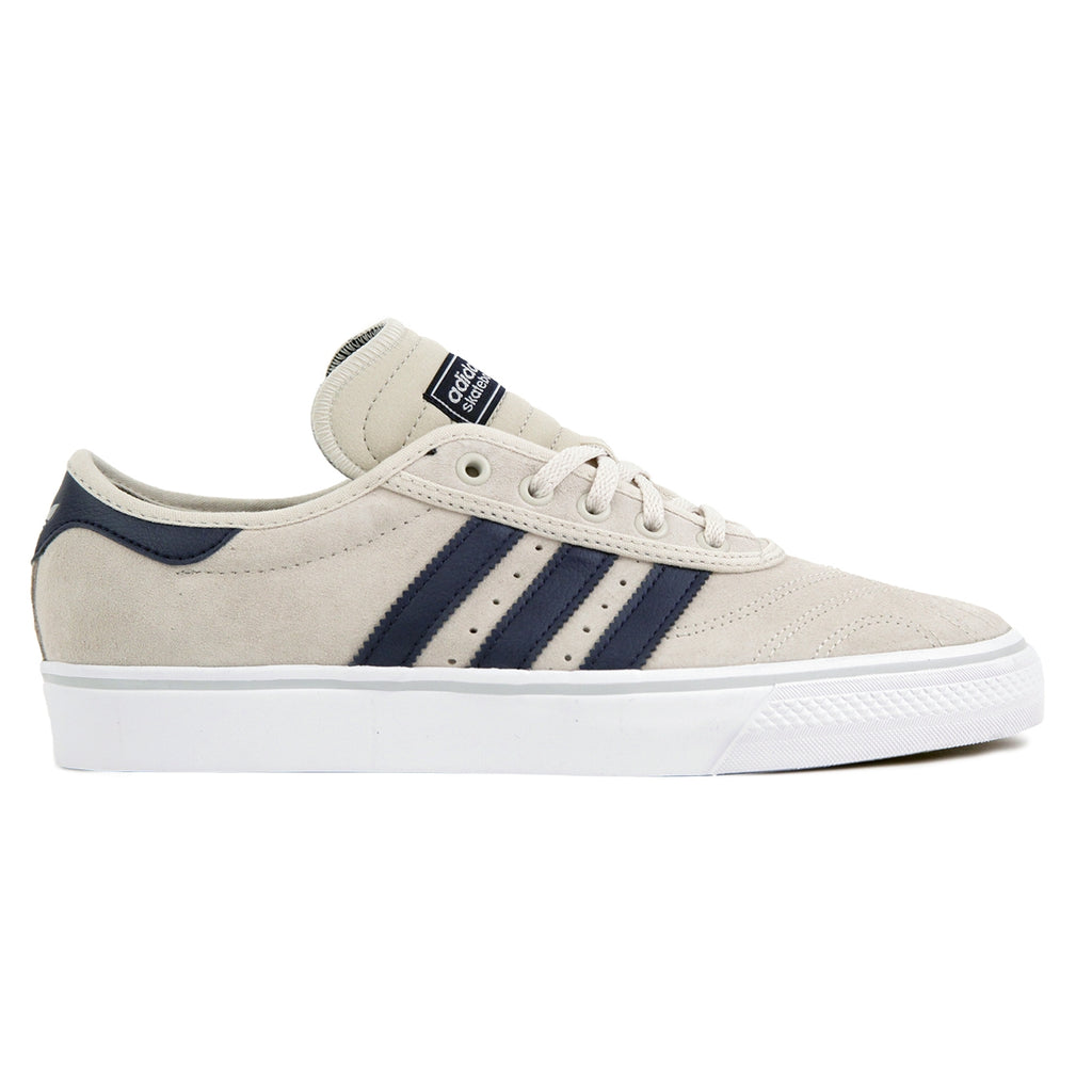 Adidas Skateboarding Adi Ease Premiere ADV Shoes in Clear Brown / Collegiate Navy / Footwear White