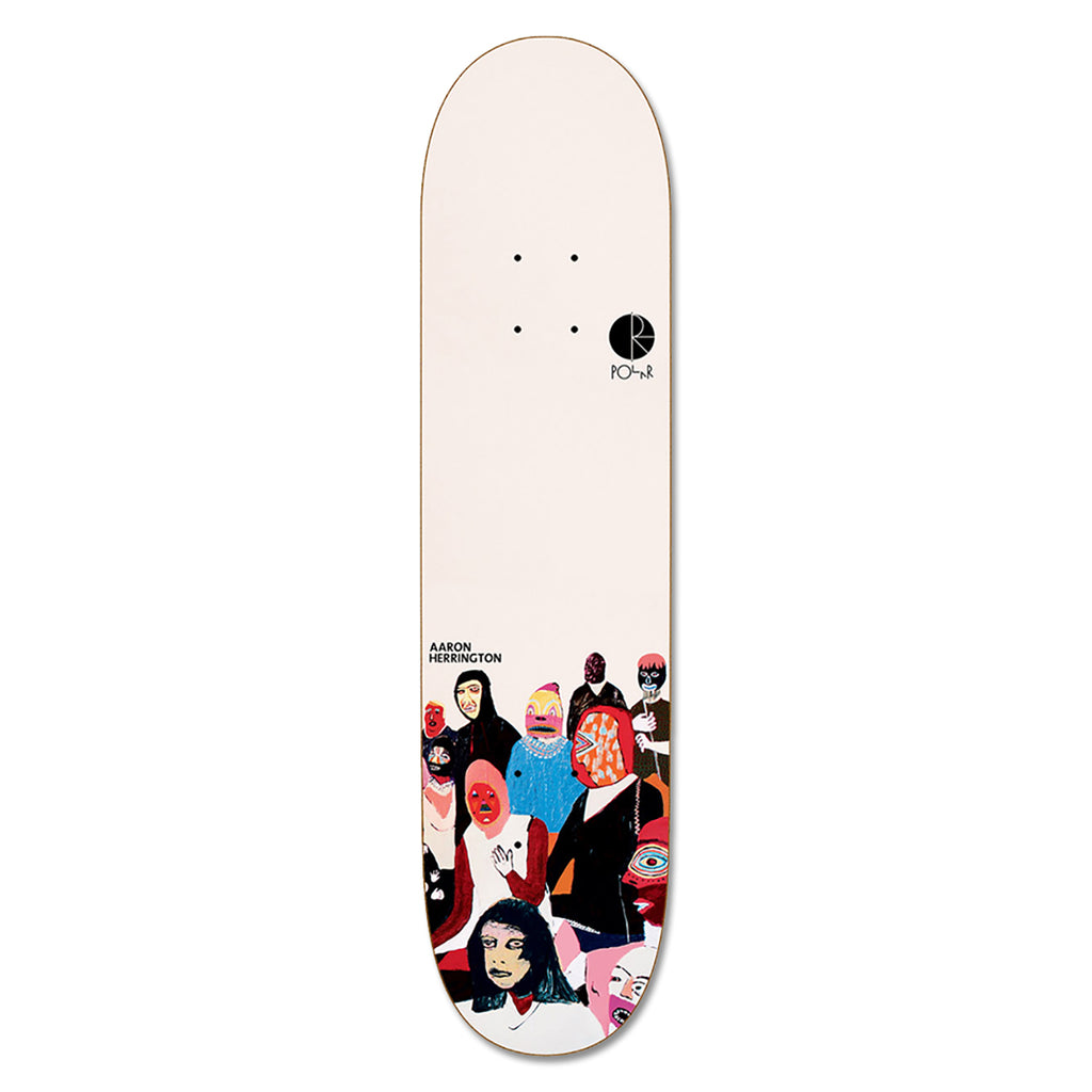 Polar Skate Co Aaron Herrington AMTK Scene B Deck in 8.25""