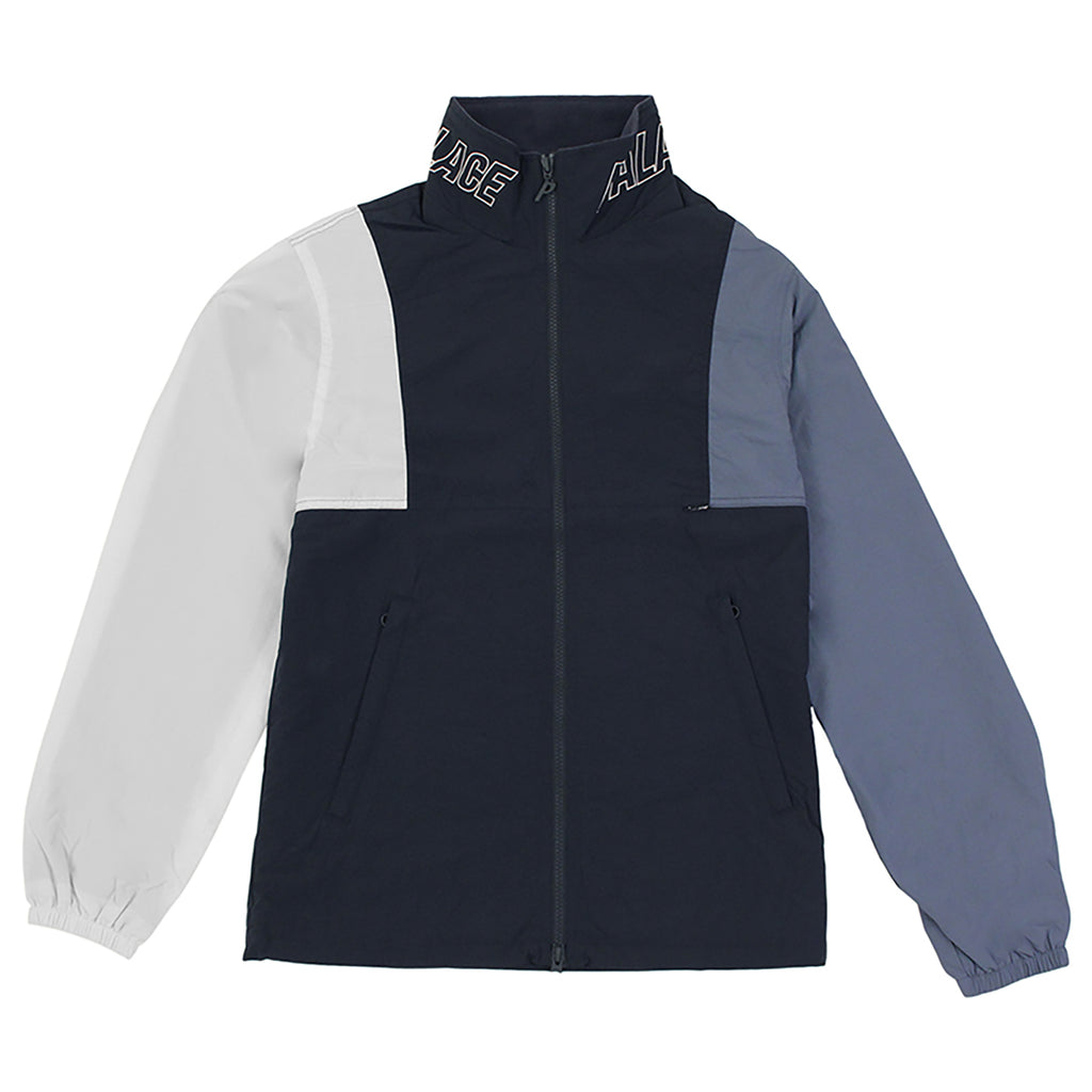 Palace Arms Jacket in Blue Nights / Flintstone / White