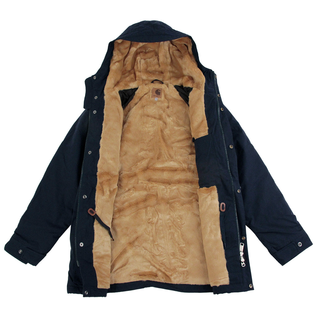 Carhartt Mentley Jacket in Navy - Lining