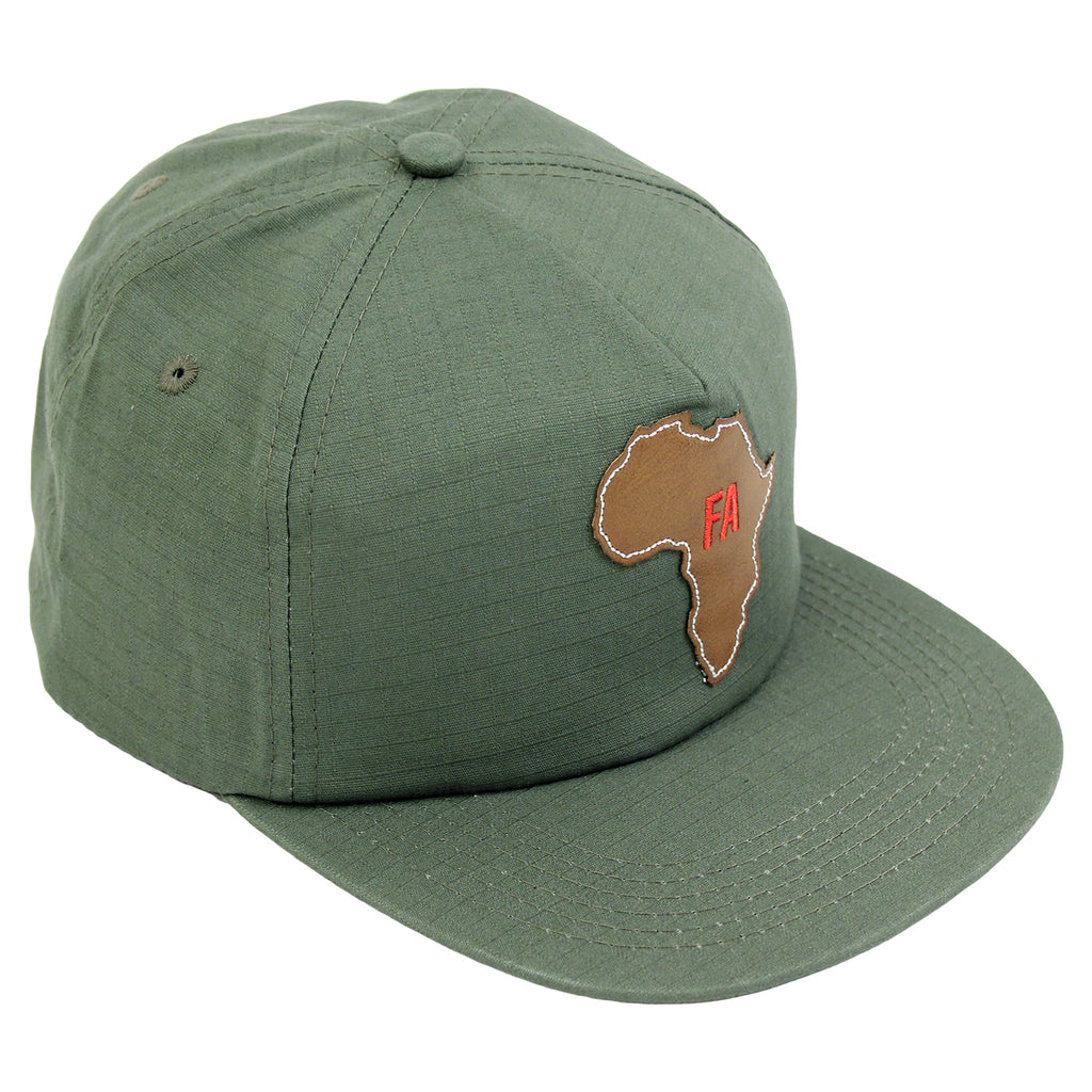 Fucking Awesome Africa Cap in Army