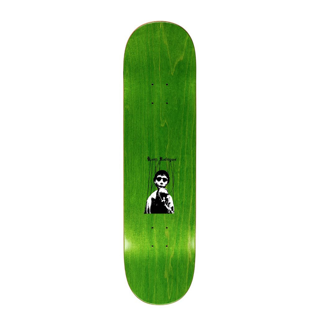 "Hockey Skateboards Kevin Shock Skateboard Deck in 8.25"" - Top"