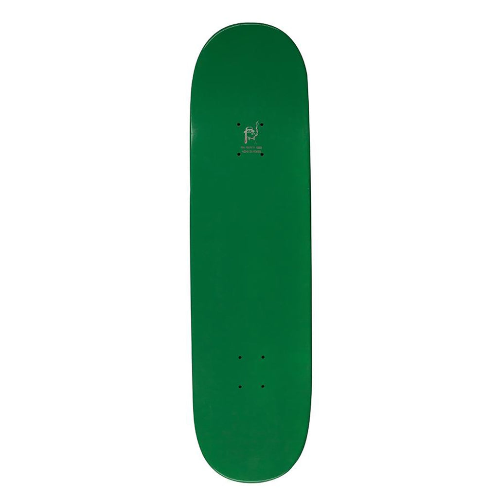 "Fucking Awesome KB Class Photo Dipped Green Skateboard Deck in 8.5"" - Top"