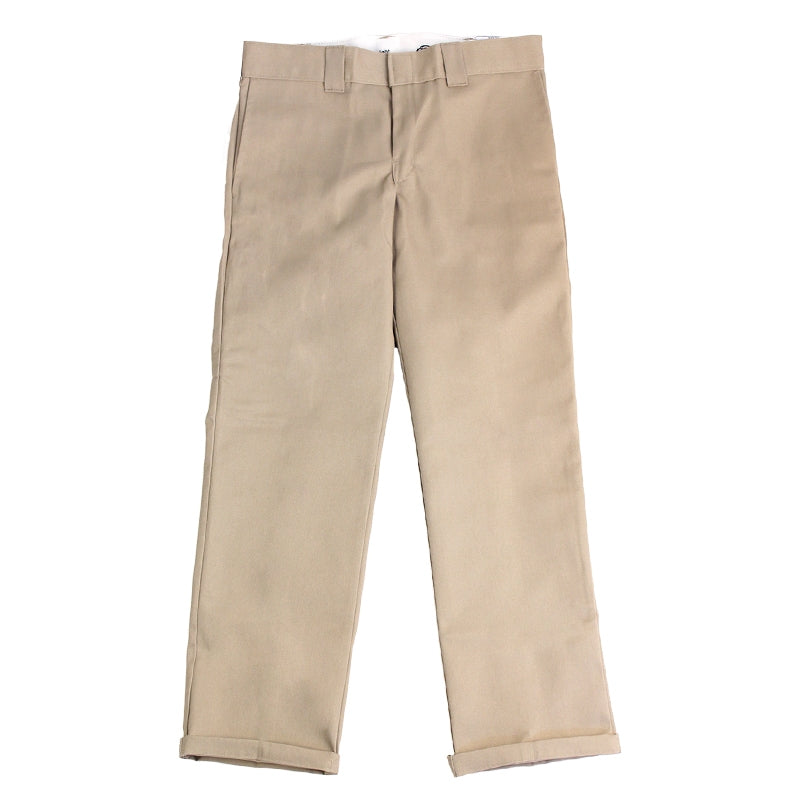 Dickies 873 Slim Straight Work Pant in Khaki - Legs