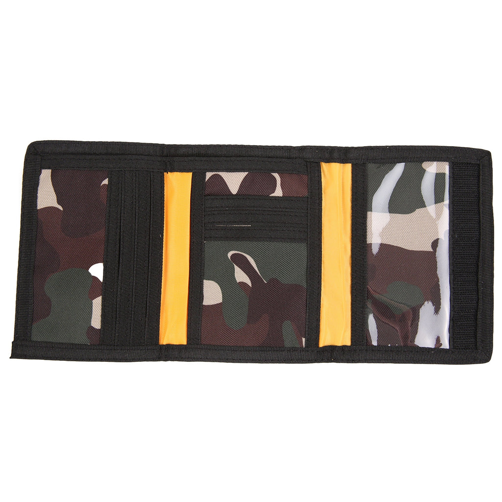 Dickies Crescent Bay Wallet in Camouflage - Open