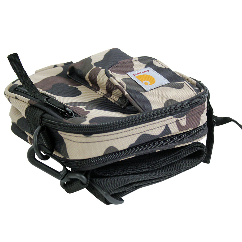 Carhartt WIP Essentials Bag in Camo Duck - Flat