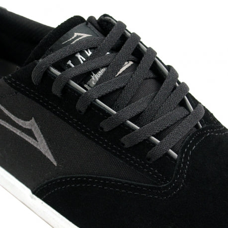 Lakai Guymar in Black / White Suede - Detail