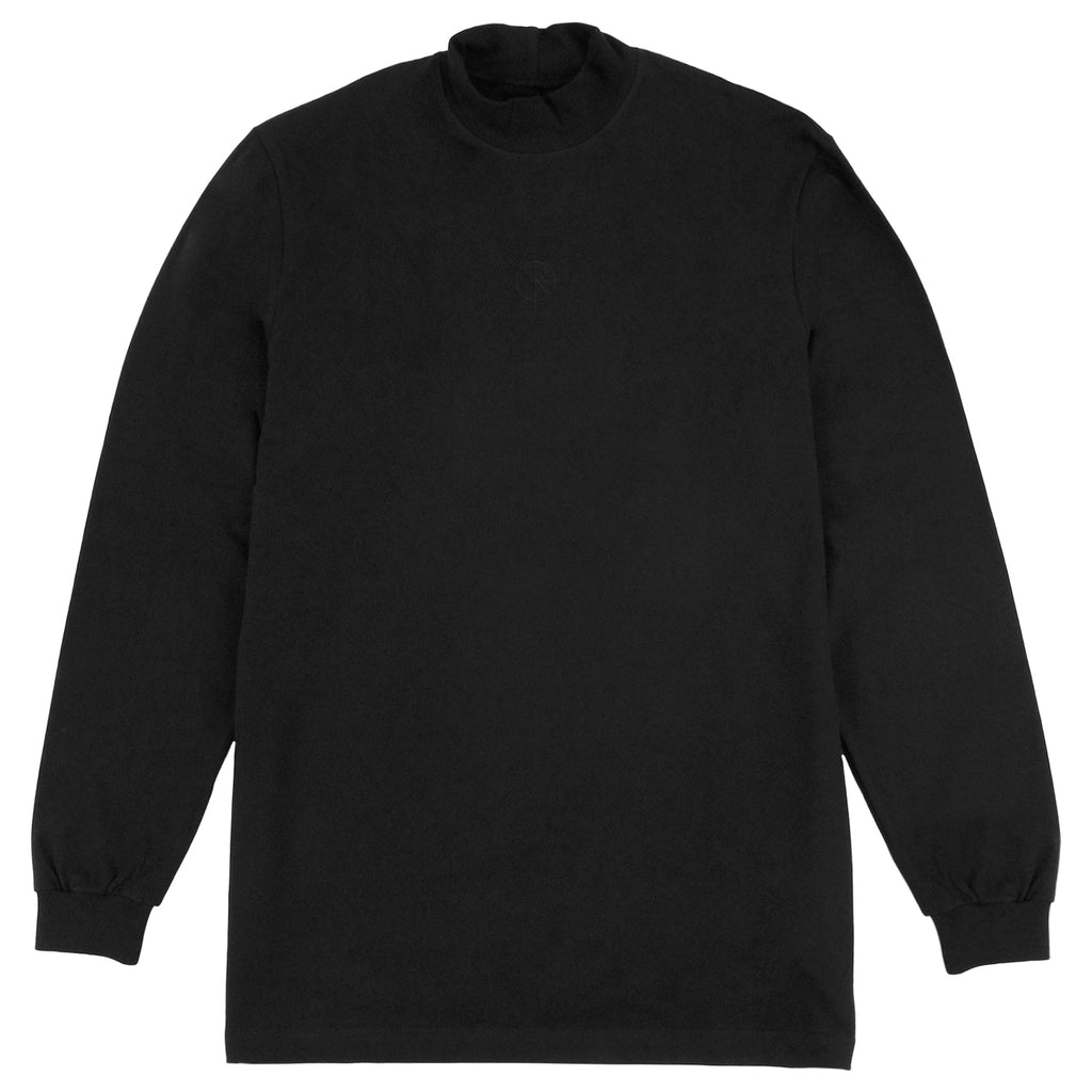 Polar Skate Co Alv Mockneck L/S T Shirt in Black