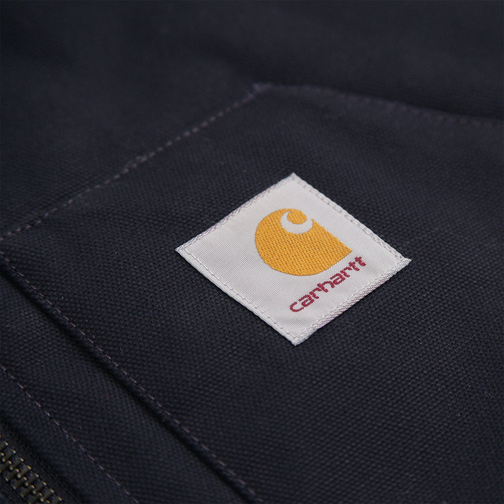 Carhartt Vest in Dark Navy - Label