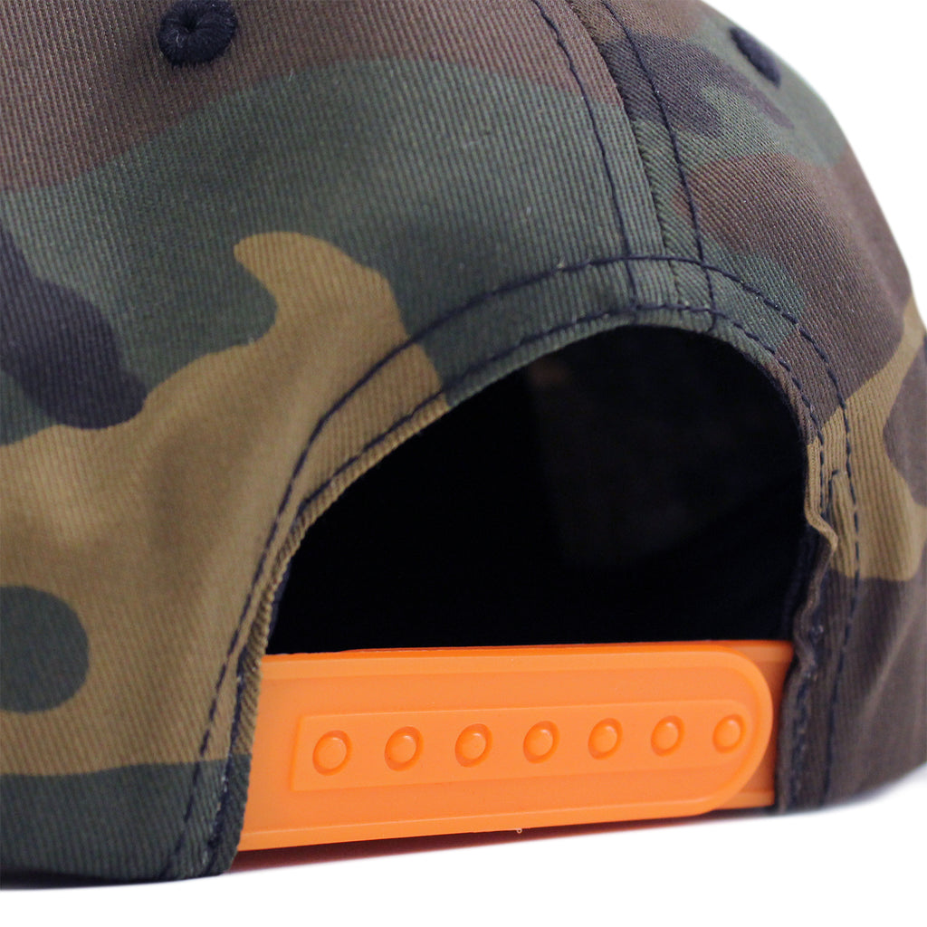 Thrasher Rope Cap in Camo - Snapback