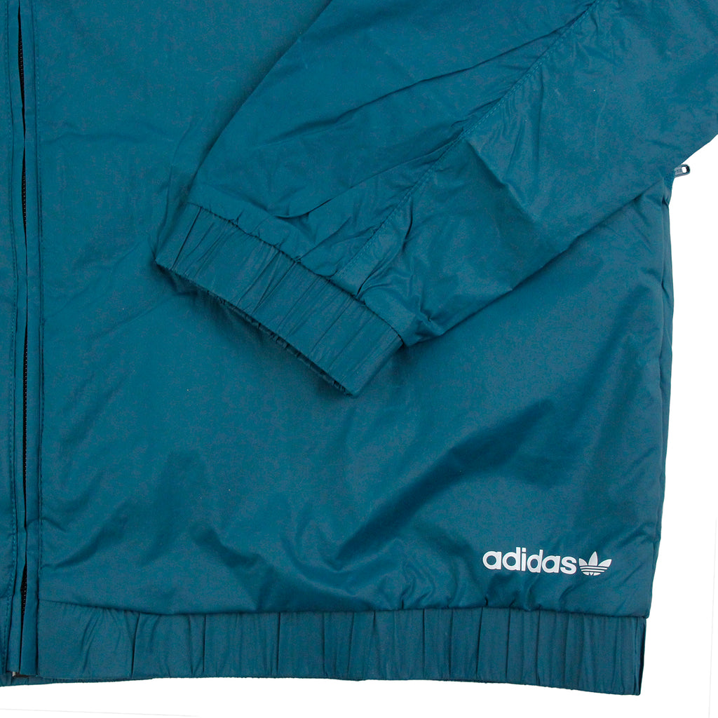 Palace x Adidas Jacket in Surf Petrol S15 - Cuff