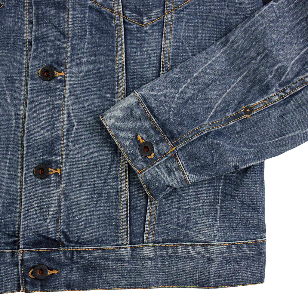 Levis Skateboarding Trucker Jacket in Battery - Cuff