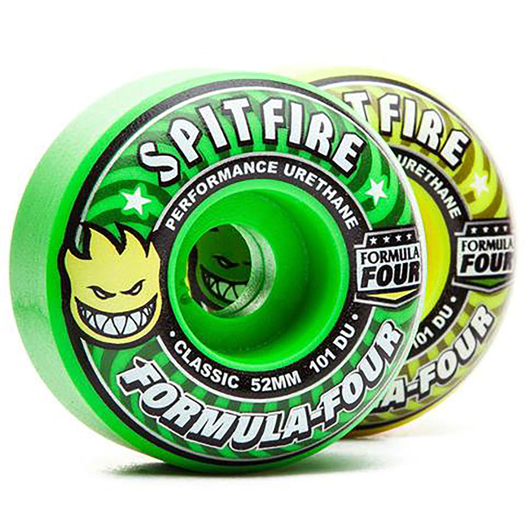 Spitfire Wheels Formula Four Coolaid Mash Up Wheels in Classic Coolade Mash - 2