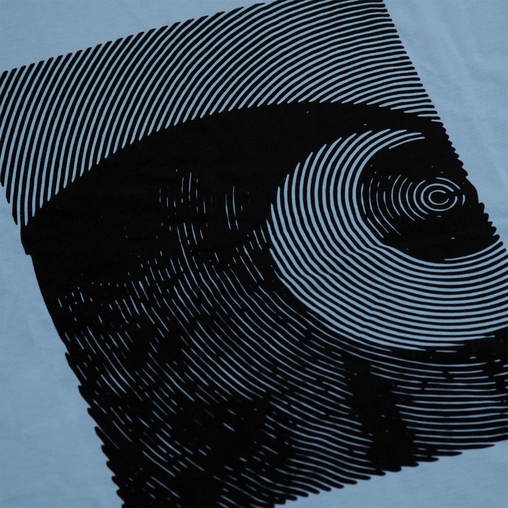 Carhartt Circles T Shirt in Capri / Black - Print
