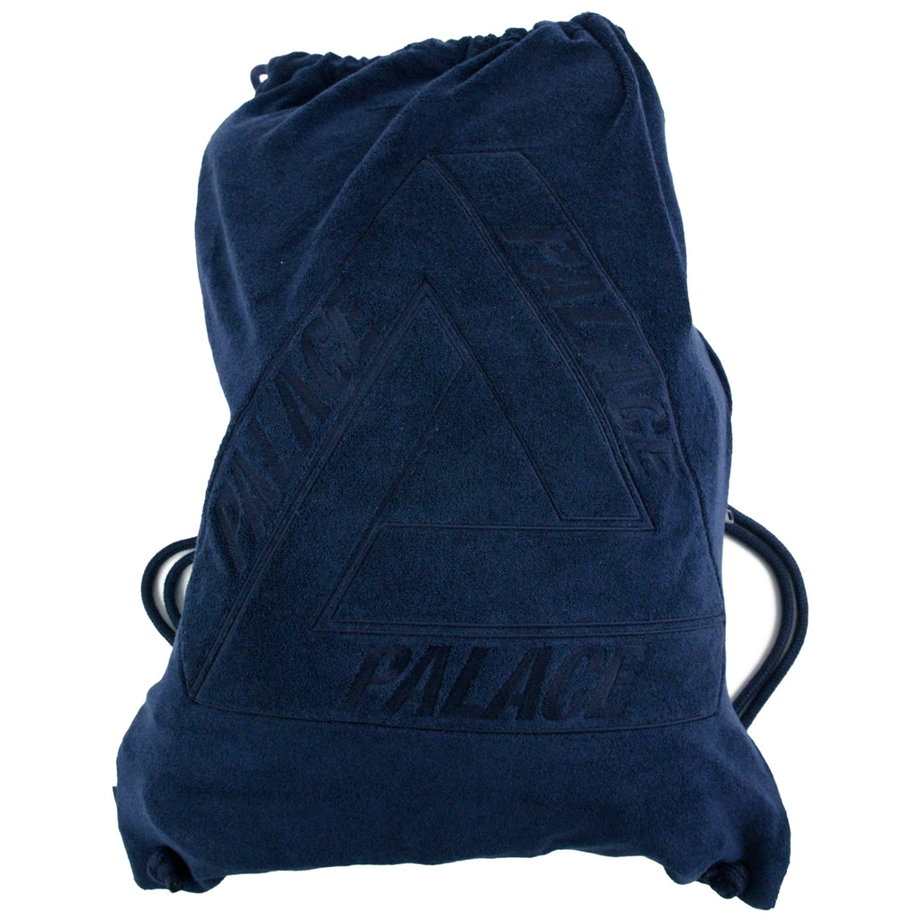Palace x Adidas Palace Gym Sack in Navy - Full