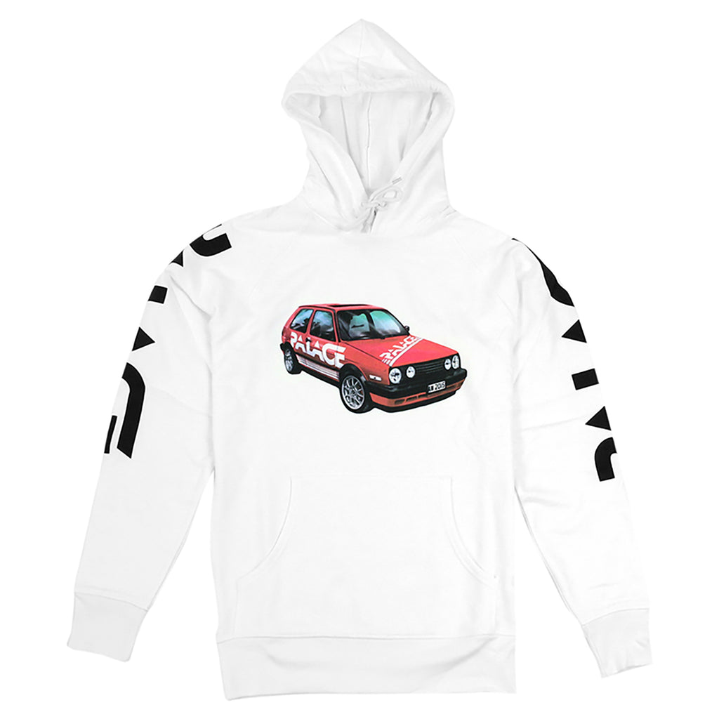 Palace Schotter Hoodie in White