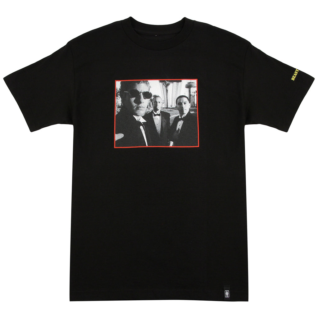 Girl Skateboards x Beastie Boys Sure Shot T Shirt in Black