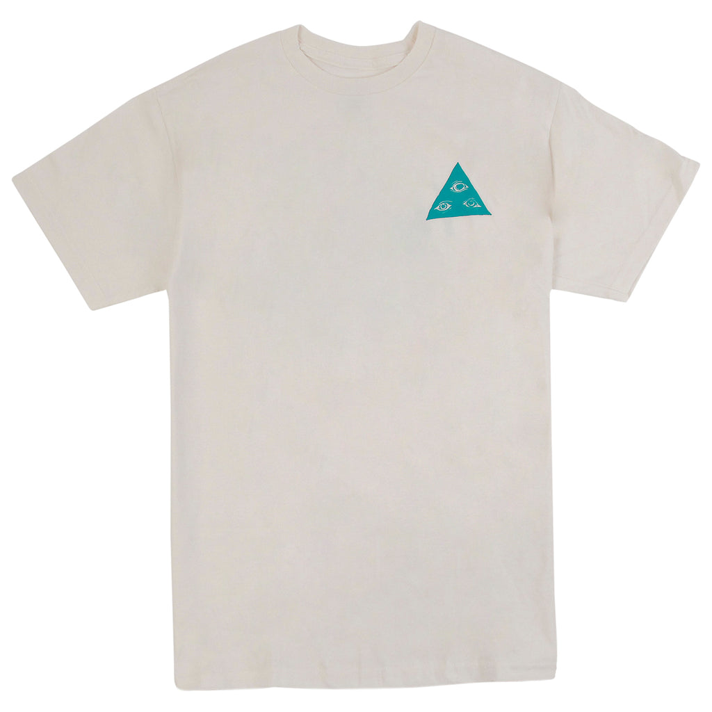 Welcome Skateboards Talisman T Shirt in Natural - Front