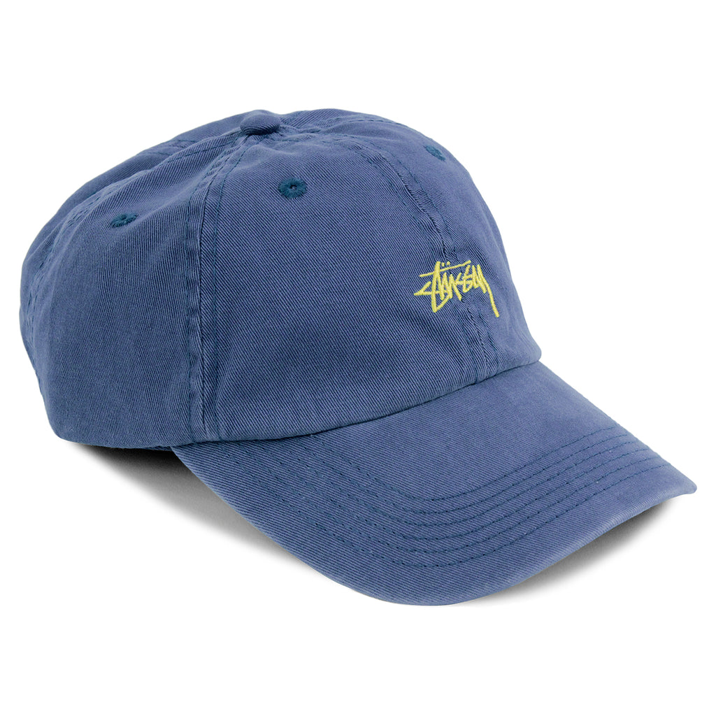 Stussy Low Profile Cap in Blue